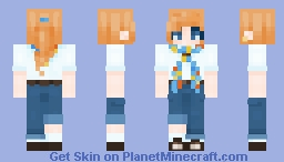 day out on the sea Minecraft Skin