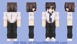 school boy ; Minecraft Skin