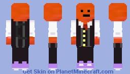 Cheese balls illegal Minecraft Skin
