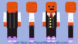he has a suit now Minecraft Skin