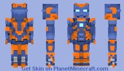 Iron Man Mark 27 (Disco) | MCU Minecraft Skin