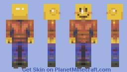 happy lego man Minecraft Skin