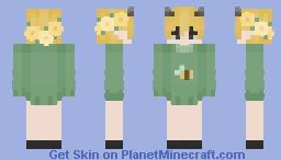 moobloom sweater (unfinished) Minecraft Skin