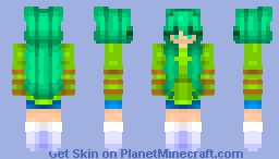 ~* The power of the environment *~ Minecraft Skin