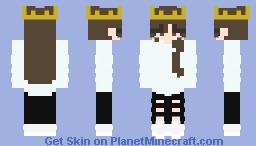 skin fight - ladyberry Minecraft Skin