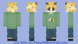 sweater moobloom Minecraft Skin