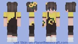 sunflower boy Minecraft Skin