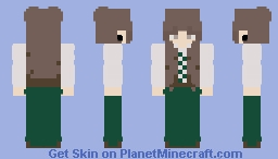 Medieval girl { Unshaded/Read Disc } Minecraft Skin