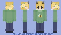 moobloom hybrid sweater version Minecraft Skin