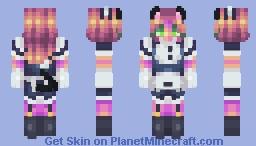 wow I'm wearing a maid dress Minecraft Skin