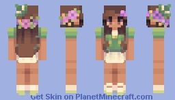 teacups and lilypads - sf Minecraft Skin