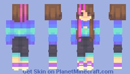 you know what they do to guys like us in prison /hb! Minecraft Skin