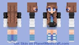 𝐵𝑒𝓈𝓉 𝒢𝒾𝓇𝓁 :- 𝕋 𝕒 𝕞 𝕚 𝕪 𝕒 Minecraft Skin