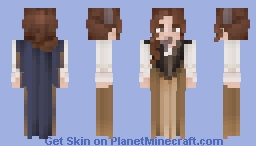↠ Off to the Races Minecraft Skin