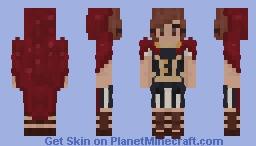 little red riding hood, 𝔤𝔩𝔞𝔡𝔦𝔞𝔱𝔬𝔯-𝔰𝔱𝔶𝔩𝔢 Minecraft Skin