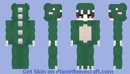 Dinosaur Onesie 🦖 || Skin Requested Minecraft Skin