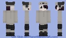 winter fit even though it's summer Minecraft Skin