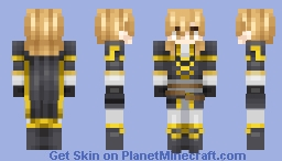 Ares, Black Knight - Fire Emblem: Genealogy of the Holy War (Commission from Khonshu) Minecraft Skin