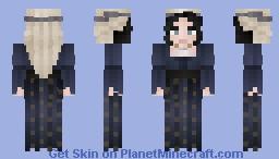 Faith in the Stars Minecraft Skin