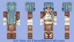 witch without a hat - oc Minecraft Skin