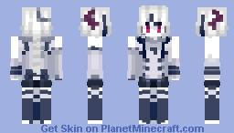 Angel - Kairiki Bear + MEIKA Mikoto Minecraft Skin