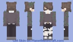 ~ m o s s y ~ Minecraft Skin
