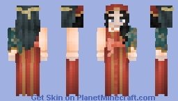 Colorful Customs Minecraft Skin