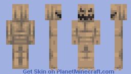 sandbag Minecraft Skin