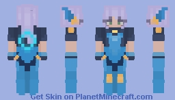 Super Galaxy Nidalee    League of Legends Skin #4 (requested) Minecraft Skin