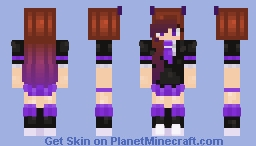 I guess i have horns💖 Minecraft Skin