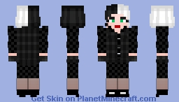 Cruella Minecraft Skin