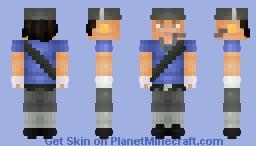Blu Scout Minecraft Skin