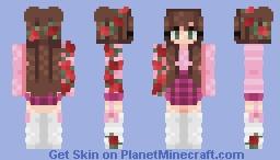 𝑅𝑜𝓈𝑒𝓈 || 𝒯𝒽𝑜𝓇𝓃𝓈 :- 𝕋 𝕒 𝕞 𝕚 𝕪 𝕒 Minecraft Skin