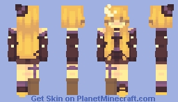 sf 40/ black moon Minecraft Skin