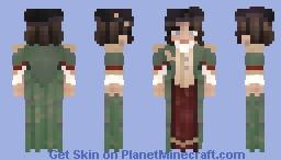 [LOTC]   𝓖𝓻𝓮𝓮𝓷 𝓢𝓽𝓪𝓽𝓮𝓼𝔀𝓸𝓶𝓪𝓷   Minecraft Skin