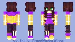 non-binary ; pride month Minecraft Skin