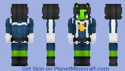 Mantis - Brandt || Guardians of the Galaxy Minecraft Skin