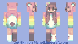 difficult to not overthink - te Minecraft Skin