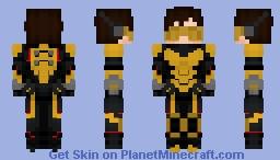 Wasp (Marvel Comics) Minecraft Skin