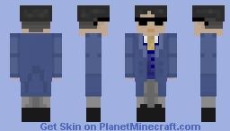 CMP977 Under Cover Minecraft Skin