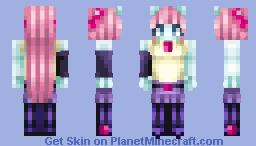 Violet Blurr Minecraft Skin