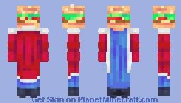 Burger King ~ 100 Remakes Entry Minecraft Skin