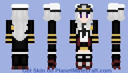 Azur Lane Enterprise Remake of the Remake Minecraft Skin