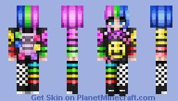 Scenecore Minecraft Skin