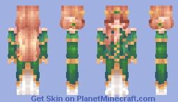 Emerald Queen ♡ Remake Contest Entry Minecraft Skin