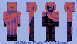 cloak man Minecraft Skin