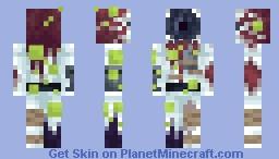 Astronaut Parasite Minecraft Skin