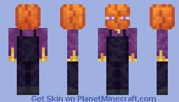 Enderman Scarecrow Minecraft Skin