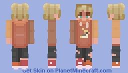 bird hoodie Minecraft Skin