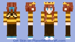 And we'll never bee royals Minecraft Skin